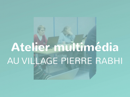 St-Barth TV 2020 / Atelier multimedia au Village Pierre Rabhi